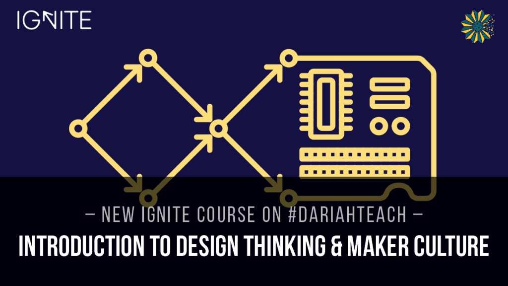Developing Educational Materials: IGNITE and #dariahTeach